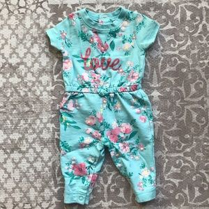 4/$20 - Carter's 3 mo baby girls jumpsuit